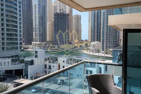 1 Bedroom Apartment for Sale in Dubai Marina, Dubai - VACANT   MARINA VIEW   NEAR METRO