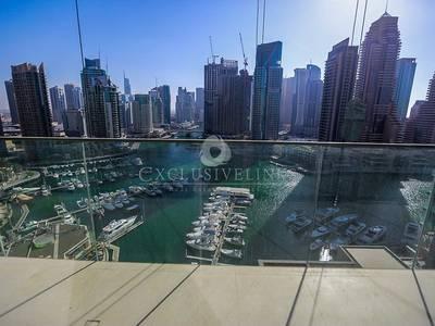 3 Bedroom Apartment for Rent in Dubai Marina, Dubai - Stunning Rare Full Marina View 3 Bedroom
