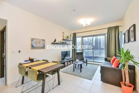 1 Bedroom Flat for Sale in Dubai Marina, Dubai - Panoramic Marina View   Rented 1 bedroom