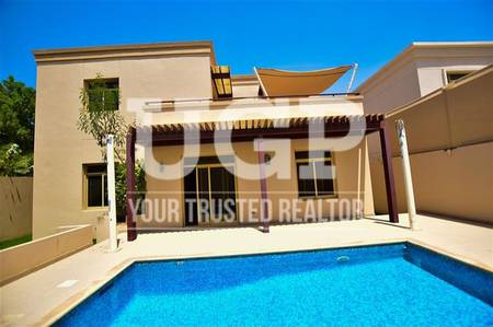 5 Bedroom Villa for Sale in Al Raha Golf Gardens, Abu Dhabi - Hot Deal! 5 M villa with Pool and Garden