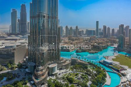 3 Bedroom Flat for Rent in Downtown Dubai, Dubai - Amazing 3BR w/ Full Burj view | A/C free
