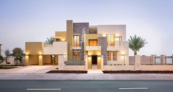 5 Bedroom Villa for Rent in Yas Island, Abu Dhabi - Stunning Corner 5BR Villa For Rent In West Yas
