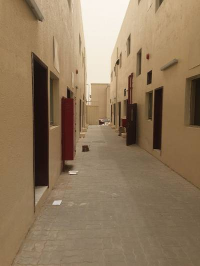Labour Camp for Rent in Al Jurf, Ajman - AED 1400/Month 16 Labor Rooms for Rent Including All in Al Jurf Ajman UAE