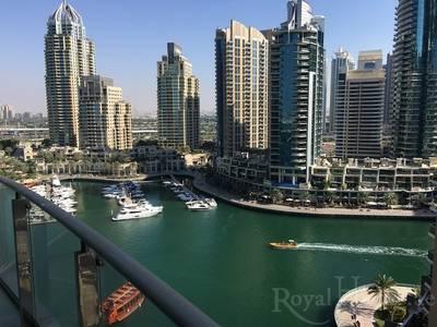 2 Bedroom Flat for Rent in Dubai Marina, Dubai - Marina Terrace   2 Bedroom   Marina View