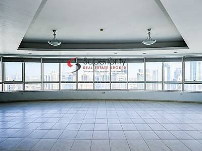 4 Bedroom Apartment for Rent in Dubai Marina, Dubai - 4 bed+Maid Unfurnished in Horizon Tower Cheapest Rent