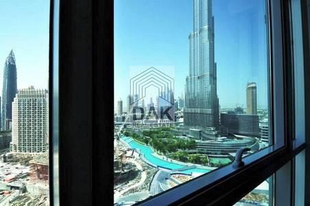 2 Bedroom Apartment for Rent in Downtown Dubai, Dubai - 2 Bedroom | Full Burj View | Residences Tower.