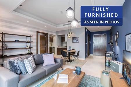 1 Bedroom Flat for Rent in Dubai Marina, Dubai - Brand New Stylish Interiors | Furnished