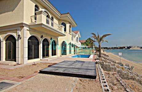 4 Bedroom Villa for Rent in Palm Jumeirah, Dubai - STUNNING 4 BED GARDEN HOME TYPE VILLA IN FROND M