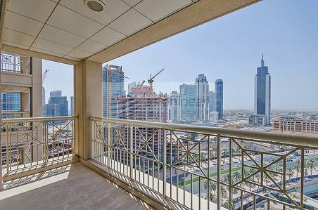 2 Bedroom Flat for Sale in Downtown Dubai, Dubai - Largest 2 Br+Study | Full Burj /Fountain