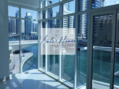 3 Bedroom Apartment for Rent in Dubai Marina, Dubai - Full Marina View in a3BR+Maids | Chiller Free | New Building