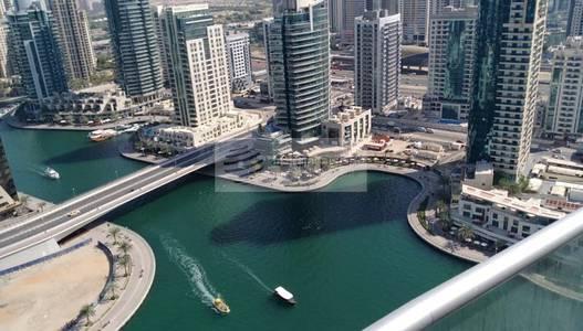 1 Bedroom Flat for Rent in Dubai Marina, Dubai - Maintained 1BR  High Floor   Park Island