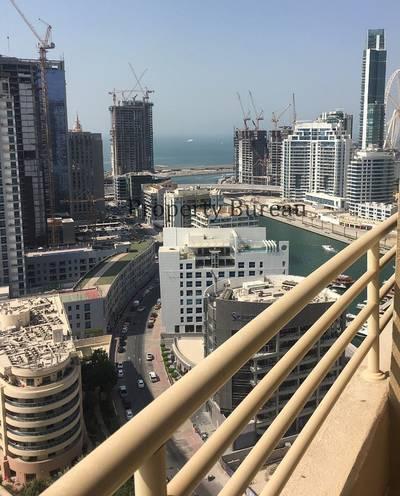 2 Bedroom Apartment for Sale in Dubai Marina, Dubai - 2 Bed Room Higher Floor Manchester Tower
