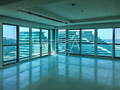 4 Bedroom Penthouse for Rent in Al Raha Beach, Abu Dhabi - Exquisite 4 Bed Penthouse with Facilities! Stunning Ocean View in Al Bandar!