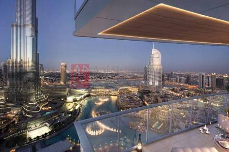 3 Bedroom Flat for Sale in Downtown Dubai, Dubai - Higher Floor|3 BR Facing Full Burj and Fountain View