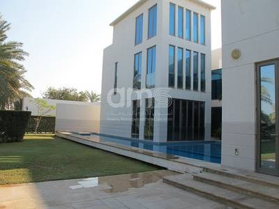 4 Bedroom Villa for Rent in Between Two Bridges (Bain Al Jessrain), Abu Dhabi - Excellent 4 bedroom villa with private pool and garden available for rent