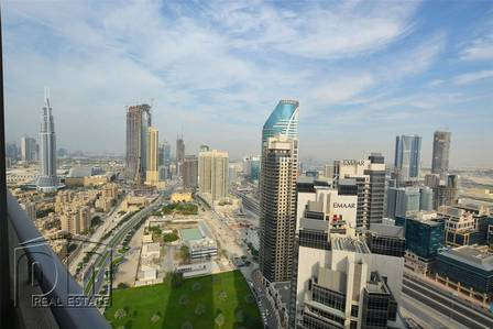 1 Bedroom Apartment for Sale in Downtown Dubai, Dubai - High Floor Unit Panoramic views of Dubai