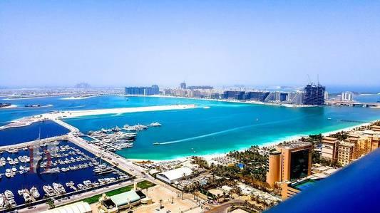 2 Bedroom Apartment for Rent in Dubai Marina, Dubai - 2 BR| Full Sea View |High Floor Princess Tower
