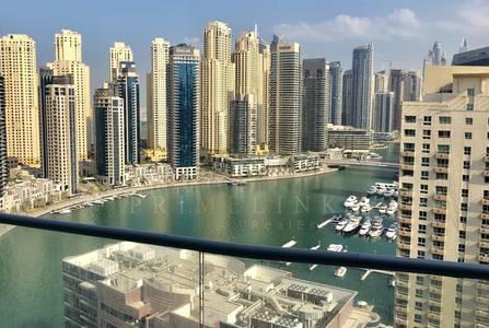 3 Bedroom Apartment for Rent in Dubai Marina, Dubai - Lovely Marina View I The Waves
