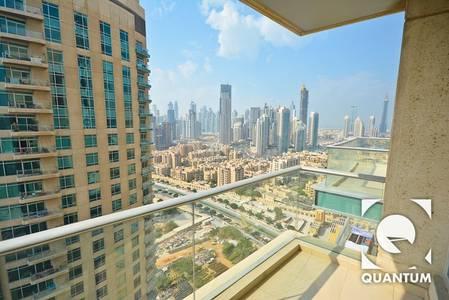 1 Bedroom Flat for Rent in Downtown Dubai, Dubai - 1BR High Floor| Full Burj View | Tower B