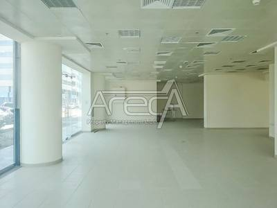 Showroom for Rent in Eastern Road, Abu Dhabi - Big Space, Fully Fitted Showroom for Rent in Khalifa Park Area!