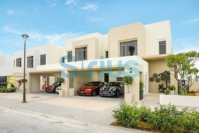 3 Bedroom Villa for Sale in Town Square, Dubai - 3 bedroom Cozy Hayat Townhouse near pool nice view