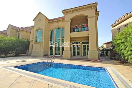 4 Bedroom Villa for Rent in Jumeirah Islands, Dubai - Available Now | Garden Hall | Great Area