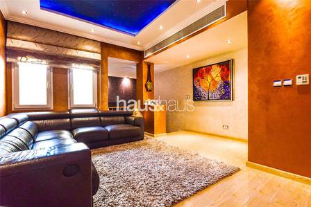4 Bedroom Villa for Rent in The Meadows, Dubai - Exclusive | Unique Design | Built in Gym