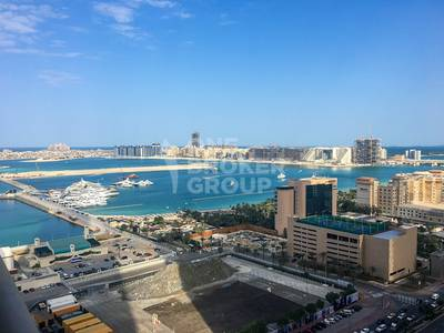 1 Bedroom Flat for Rent in Dubai Marina, Dubai - Best Layout 1 Bed room / Partial Sea View / Vacant