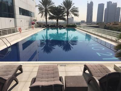 1 Bedroom Flat for Rent in Dubai Marina, Dubai - POOL VIEW 1BR In MAG 218 Dubai Marina