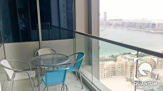 1 Bedroom Apartment for Rent in Dubai Marina, Dubai - Modern | Furnished | Sea view | AC Free