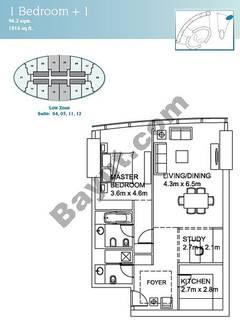1 Bedroom Suite(4,5,11,12)