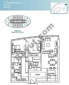 2 Bedroom Suite (3,4,8,9)