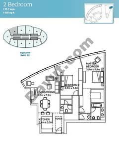 2 Bedroom Suite 2