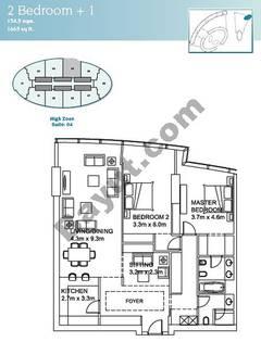 2 Bedroom Suite 4