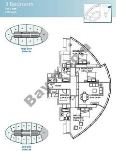3 Bedroom Suite 6 Low Zone