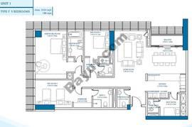3 Bedroom Unit 1
