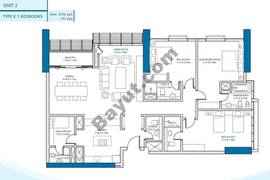 3 Bedroom Unit 2