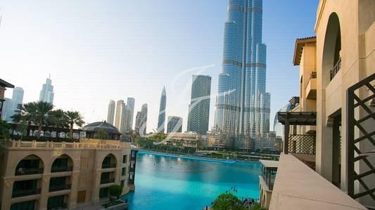 2 Bedroom Flat for Rent in Downtown Dubai, Dubai - Burj Khalifa Fountain View Furnish 2 Bed