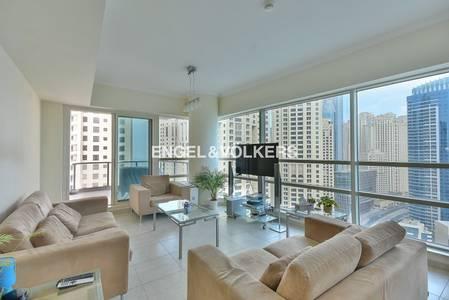 2 Bedroom Flat for Rent in Dubai Marina, Dubai - Modern   Marina Views   Fully Furnished.
