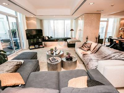 3 Bedroom Apartment for Sale in Jumeirah Lake Towers (JLT), Dubai - Exquisite Duplex Penthouse with Own Pool