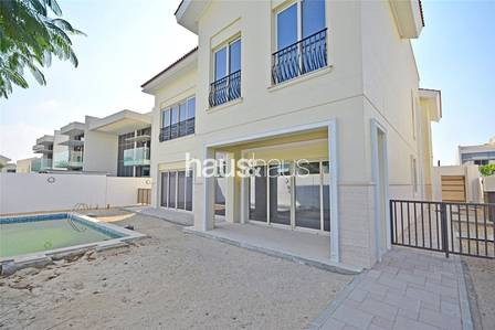 4 Bedroom Villa for Sale in Mohammad Bin Rashid City, Dubai - Geniune listing | Vacant | Backs to Park