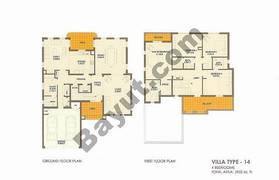 4 Bed Villa Type 14