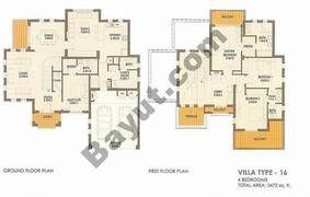 4 Bed Villa Type 16