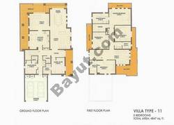 5 Bed Villa Type 11