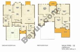 5 Bed Villa Type 15
