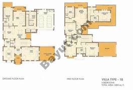 6 Bed Villa Type 18