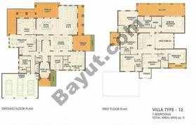 7 Bed Villa Type 12