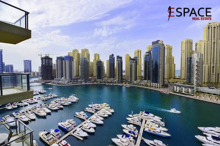 1 Bedroom Flat for Rent in Dubai Marina, Dubai - Well Maintained - Vacant - Fully Furnished