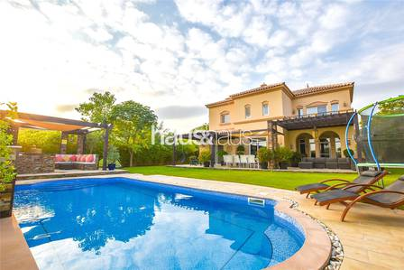 5 Bedroom Villa for Rent in Arabian Ranches, Dubai - Upgraded   Golf course view   Vacant Jan