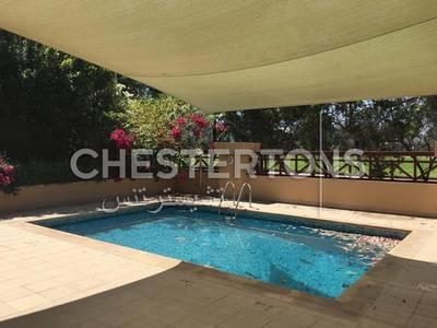 5 Bedroom Villa for Rent in Al Raha Golf Gardens, Abu Dhabi - Private Swimming Pool I Golf View I Garden